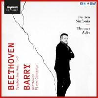 Beethoven / Barry – Britten Sinfonia / Thomas Adès