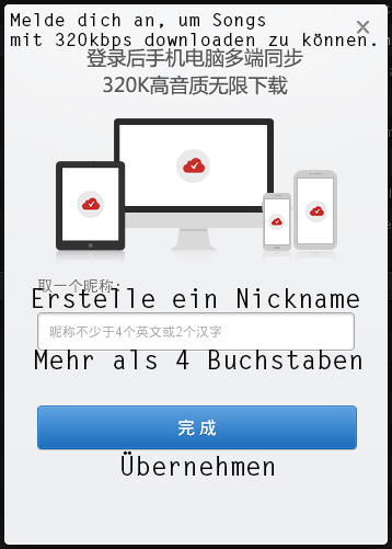 Nickname - Netease Cloud Music übersetzt deutsch full free download crack