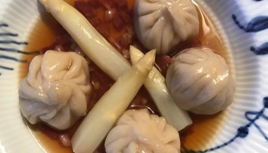 Forloren hare bao dumplings