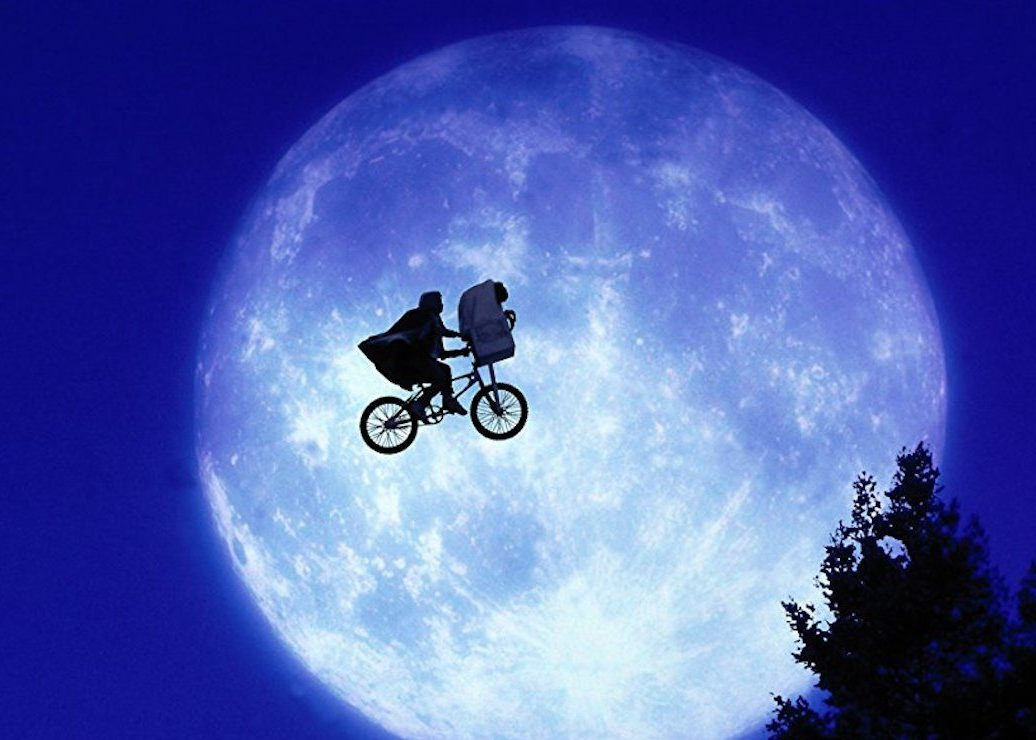 "Notes on Watching ""E.T."" Again on the Big Screen There's no time like the 80s to phone home"