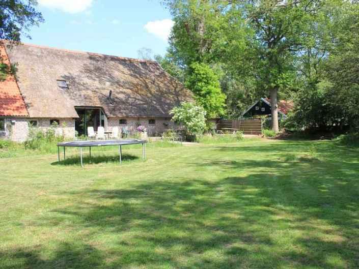 Speelveld vakantiewoning Drenthe