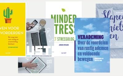 5 boeken over stress
