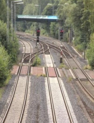 Bahnstrecke Hof-Nürnberg