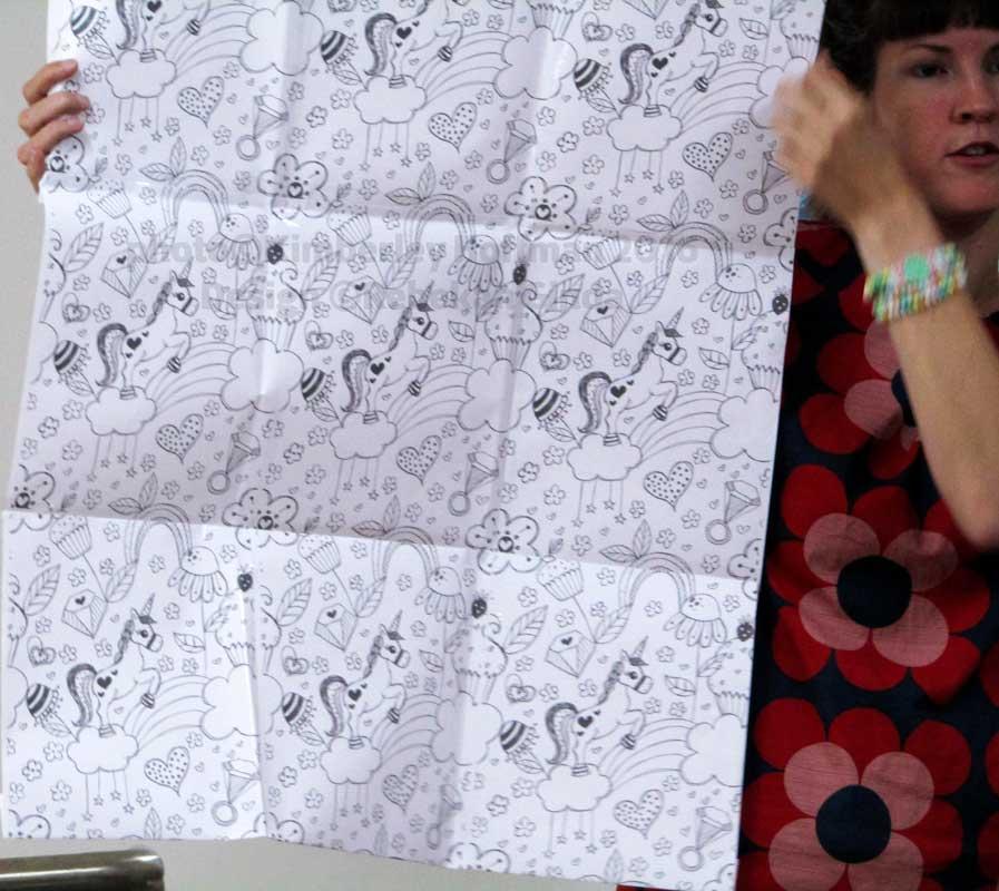 Textilworkshop mit Johanna Fritz und Rebekah Ginda bei Limetrees, Hannover, 10.09.2016
