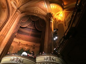 The beautiful interior of the Orpheum Theatre. Photo by Adriane Hoff
