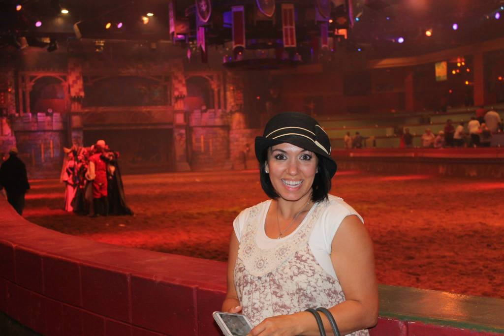 The greatest show on dirt is the Tournament of Kings at Excaliber Hotel and Resort.  The grandfather of medieval times.