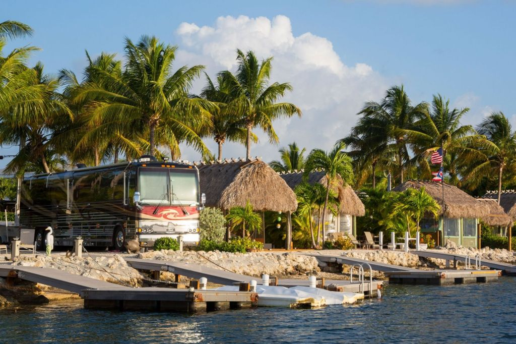 Blue Water Key is a fantastic place to stay in Key West.  Blue Water Key is one of the best RV parks in the USA.  Buy an RV so you can park here.