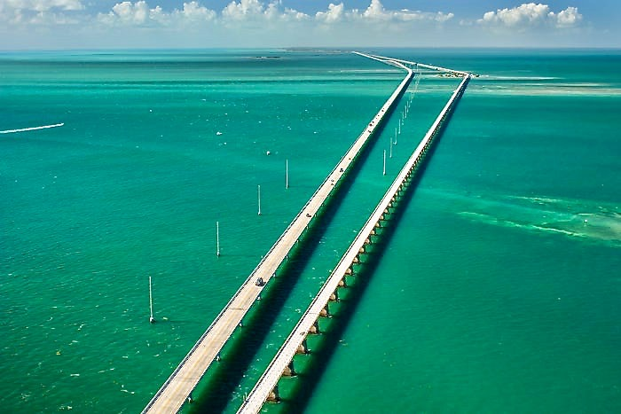 Overseas Highway, True Lies, Top roads to drive in US, beautiful drives on the way to Key West.