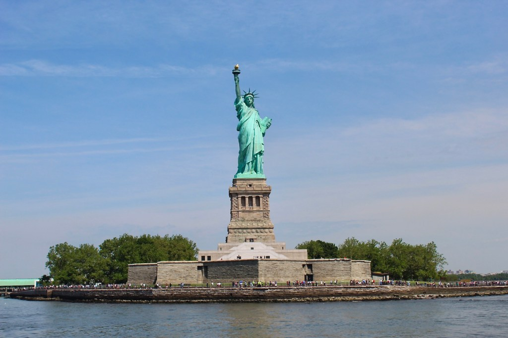 Be sure to visit the Statue of Liberty in NYC.  One of the top things to do in NYC.  If you buy an RV you can't drive to the statue.