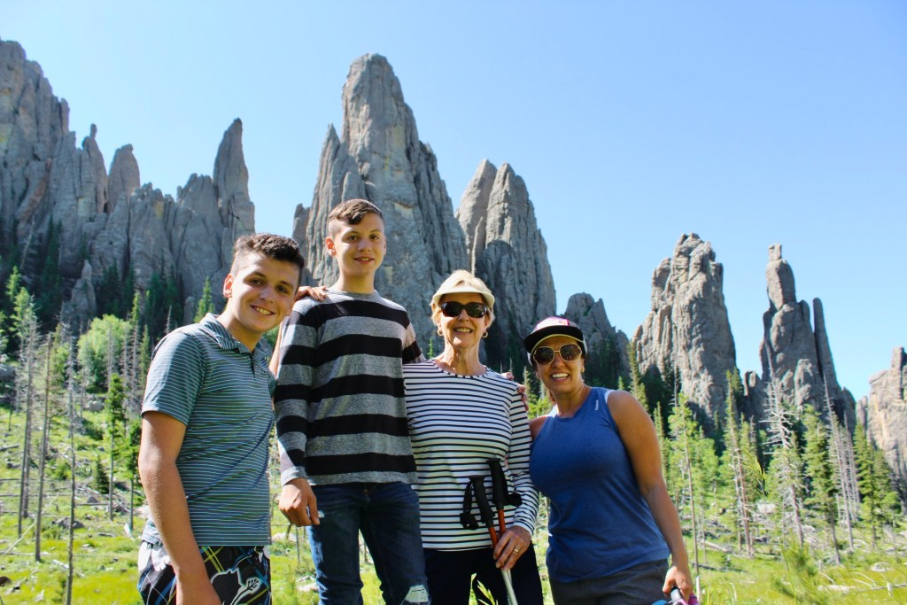 Cathedral Spires hike in the Black Hills region of South Dakota is a top five thing to do in the Black Hills.  Hoff to See the World loves hiking.