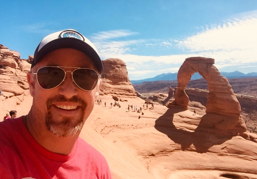 Delicate Arch is a classic site for USA travel.