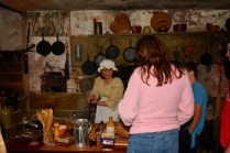 demonstrations in the summer kitchen