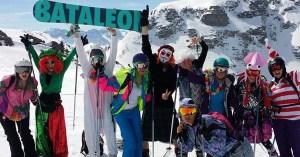 Covid ski trip