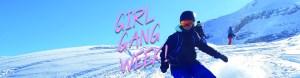 Female snowboard camp