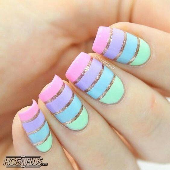 striping tape nail art