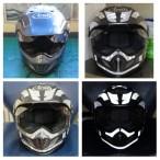 helmet reflective tape scotchlite motorcycle motor bike forum safety hi vis diy 5
