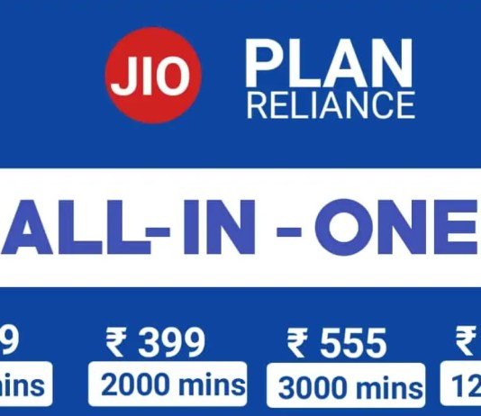 JIO All In One Plan