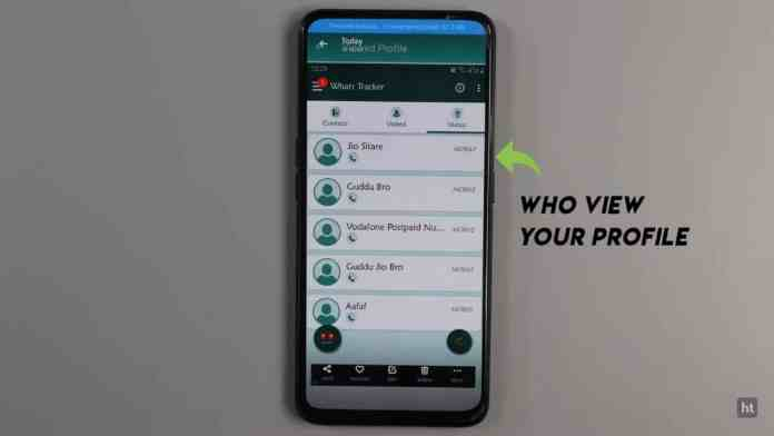 Track who visit your WhatsApp Profile