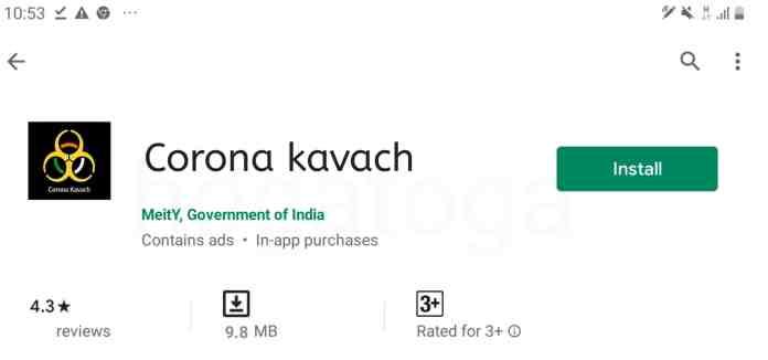 Corona Kavach COVID-19