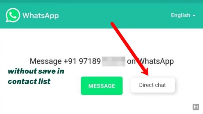 click to chat without save number