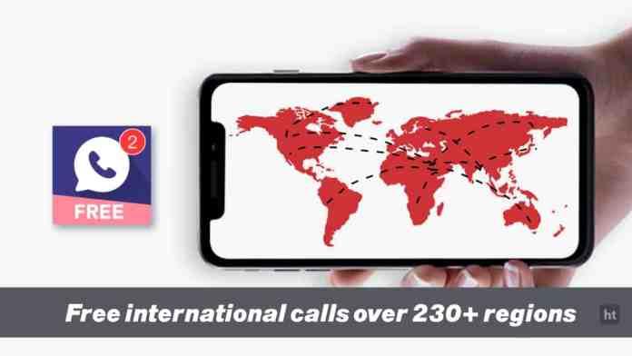 make free international call