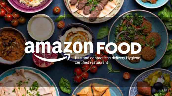 Amazon food delivery service