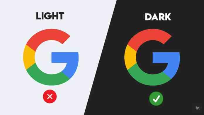 Google App Dark mode