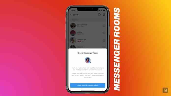 Instagram messenger rooms video