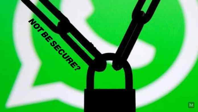 Be secure on whatsApp