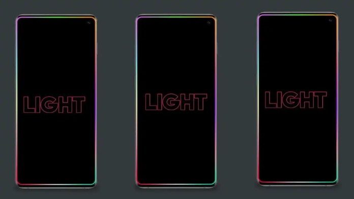 set border light for your phone