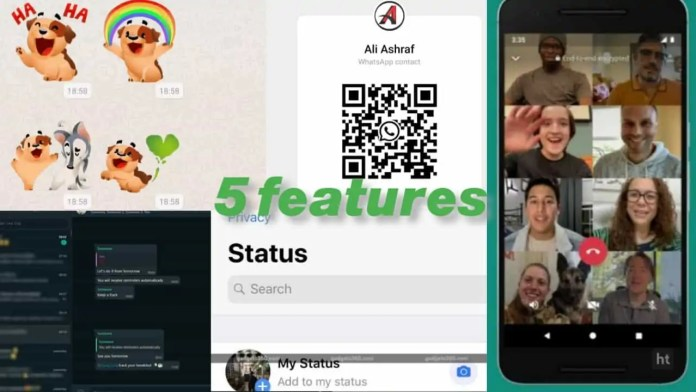 WhatsApp new features or updates