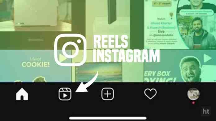 Instagram testing Reels button