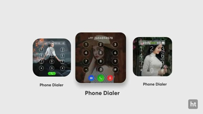 set photo on phone dialer