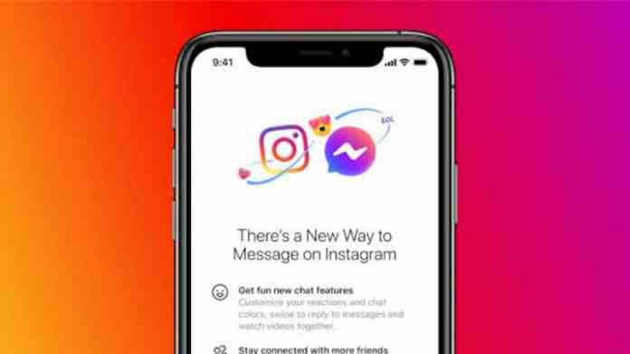 Instagram DM merged with Messenger
