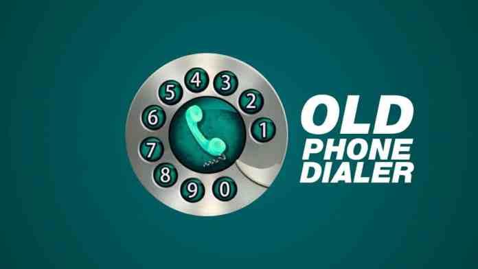 Old Phone Dialer Keypad app