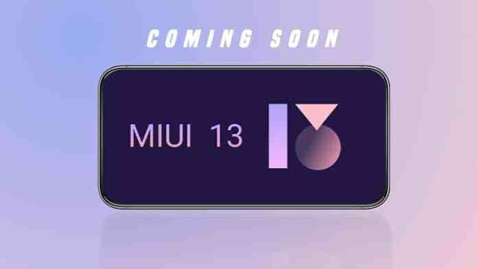 MIUI 13 update