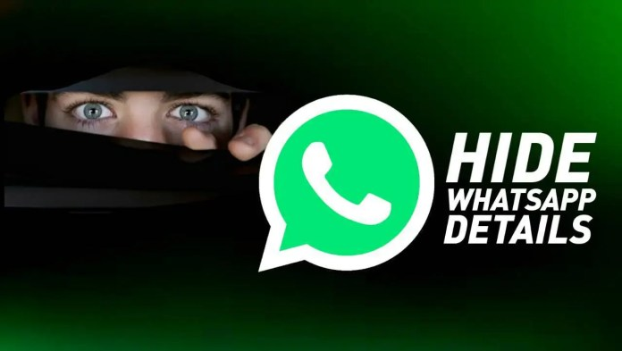 Hide WhatsApp details from an unknown person