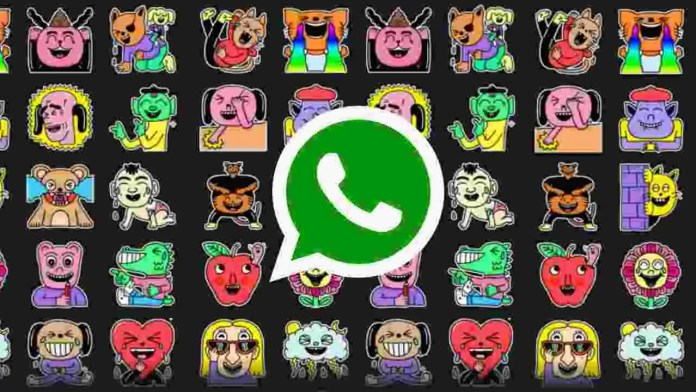 WhatsApp new Laugh It Off Sticker pack