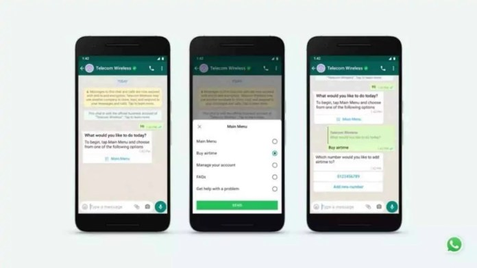 WhatsApp new experiences to make business messaging faster