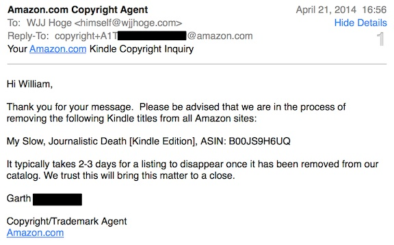 AmazonCopyrightEmail