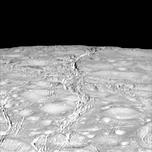Enceladus North Pole