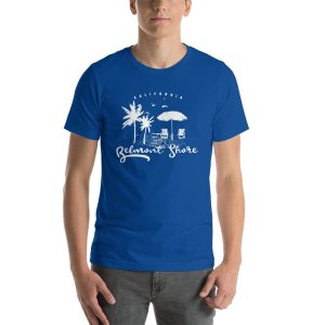 Belmont Shore 2a w mockup Front Mens True Royal