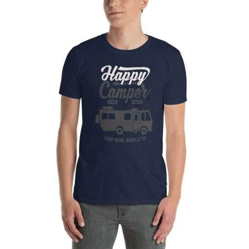 Happy Camper Class A mockup Front Mens Navy