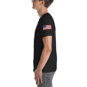 Vortex Basaball Shirt 1a american flag 2144392 mockup Left Mens Black
