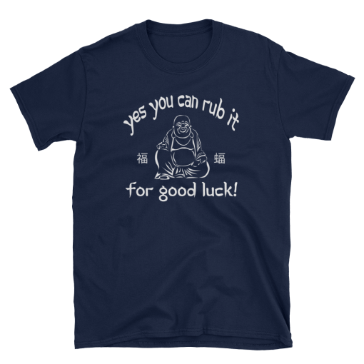 Yes you can rub it mockup Flat Front Navy
