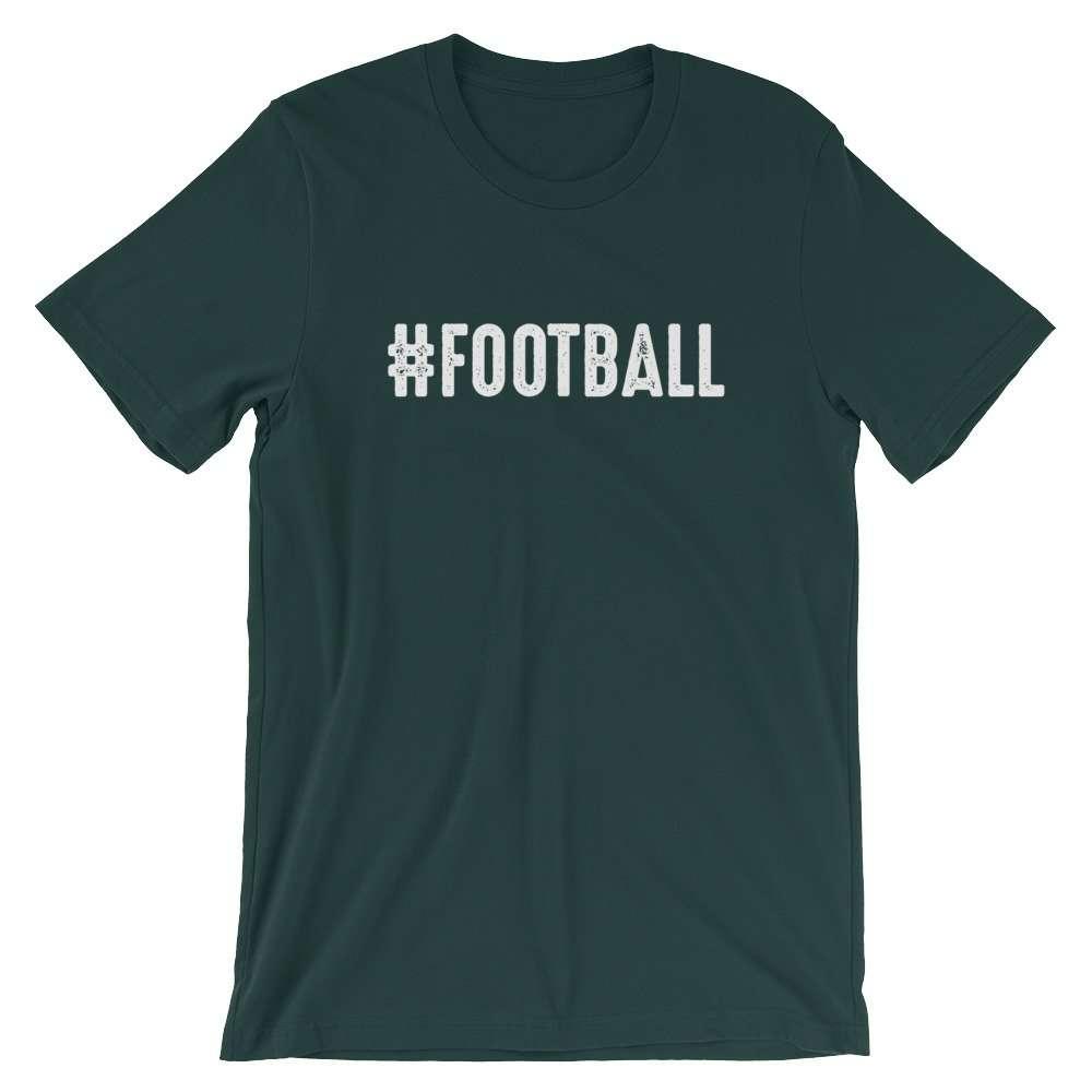 Hashtag Football Unisex T-Shirt. #FOOTBALL
