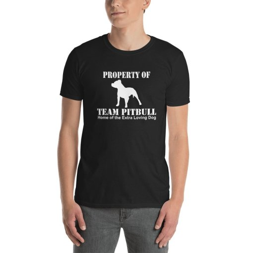 team pitbull home of the mockup Front Mens Black