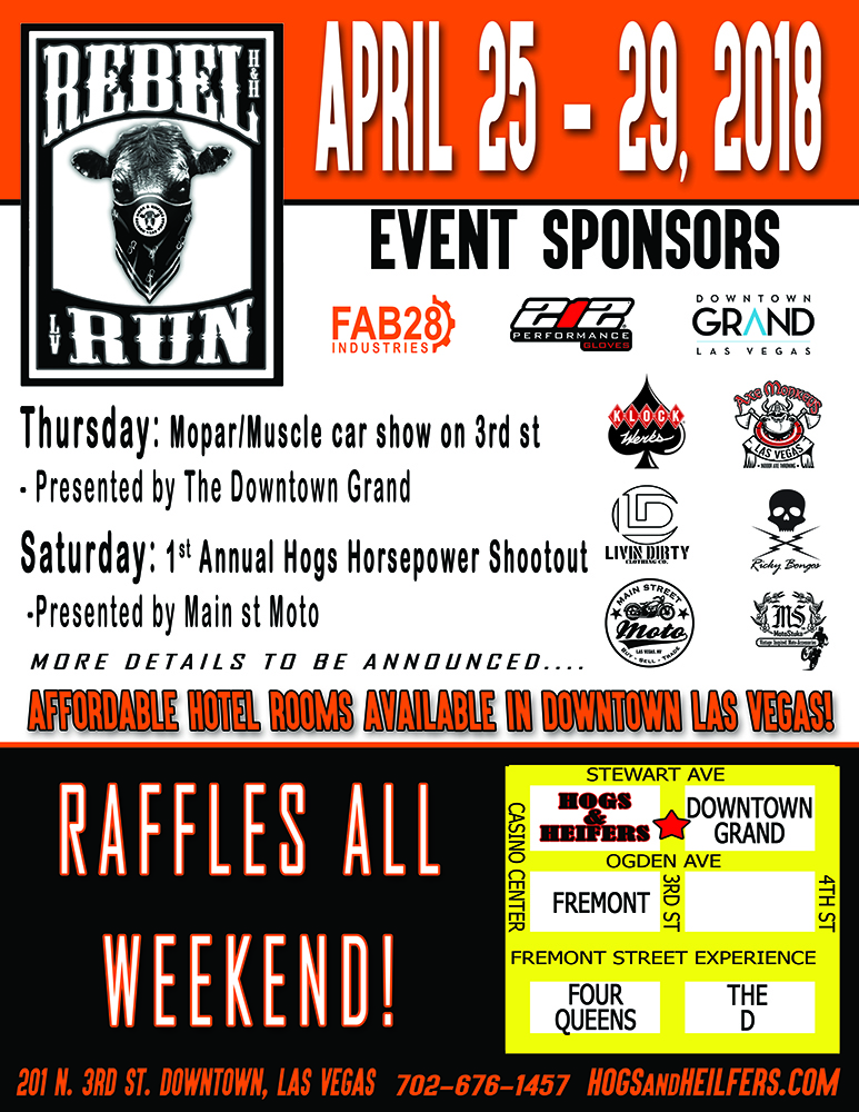 Hogs & Heifers Saloon Las Vegas - Rebel Run - web resize