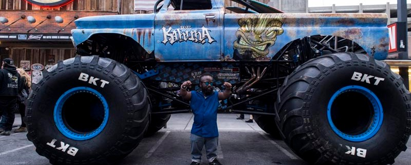 Monster Jam | Downtown Las Vegas – Hogs & Heifers Saloon Las