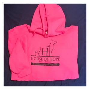 House of Hope Pink Hoodie